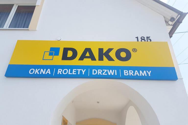 kaseton dibond dako