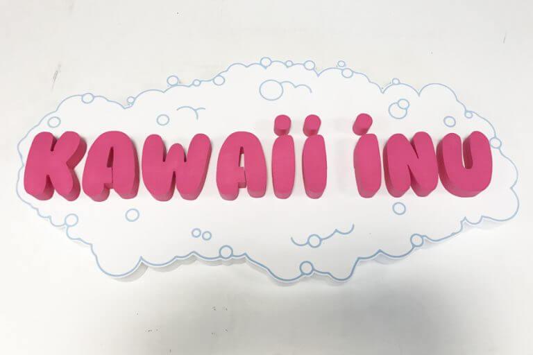logo styrodur pcv kawaii