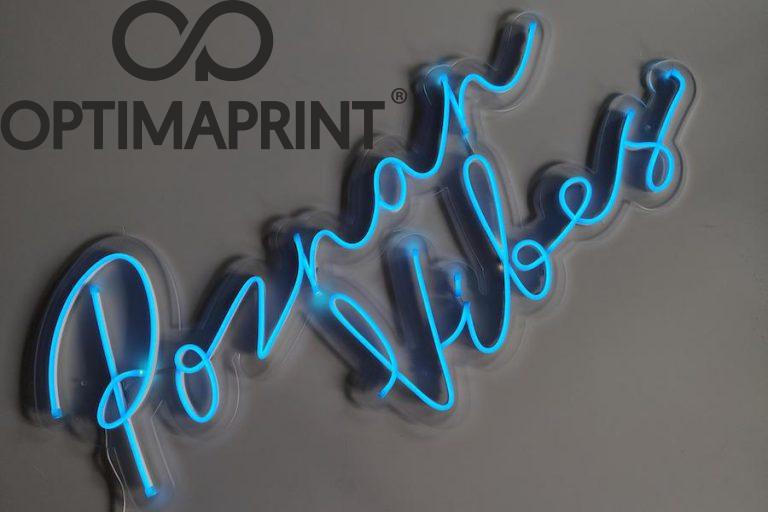 neon poznan vibes jasnoniebieski