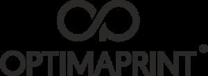logo optimaprint czarne